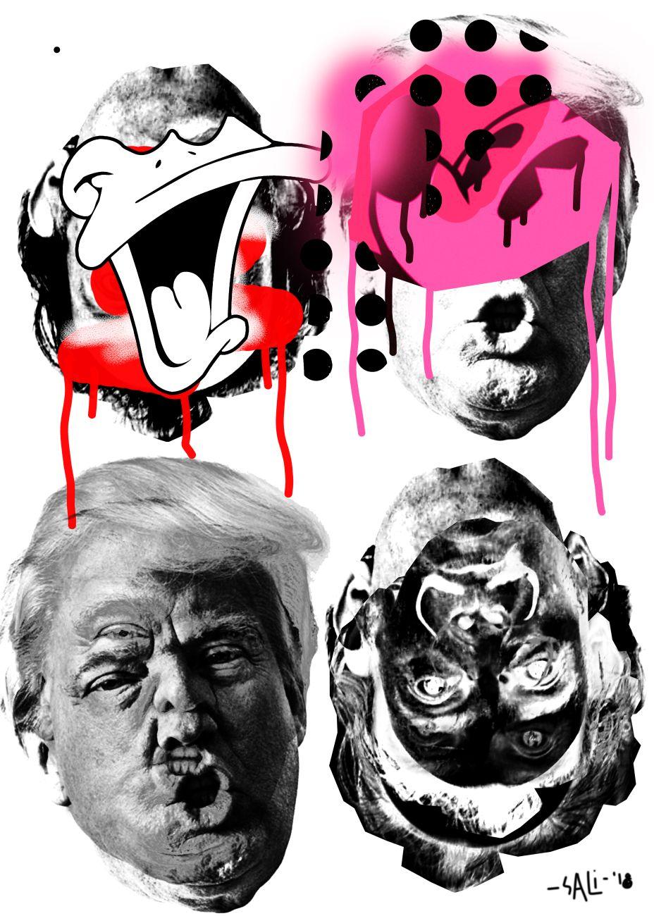 Popularism, Digital Collage, 2019
